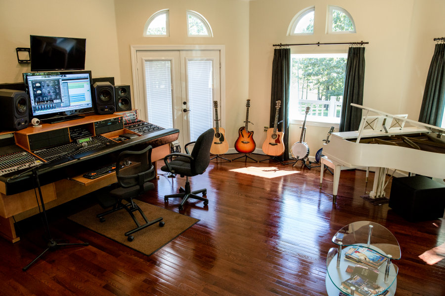 Studio A at Fountain Square House Recording Studio