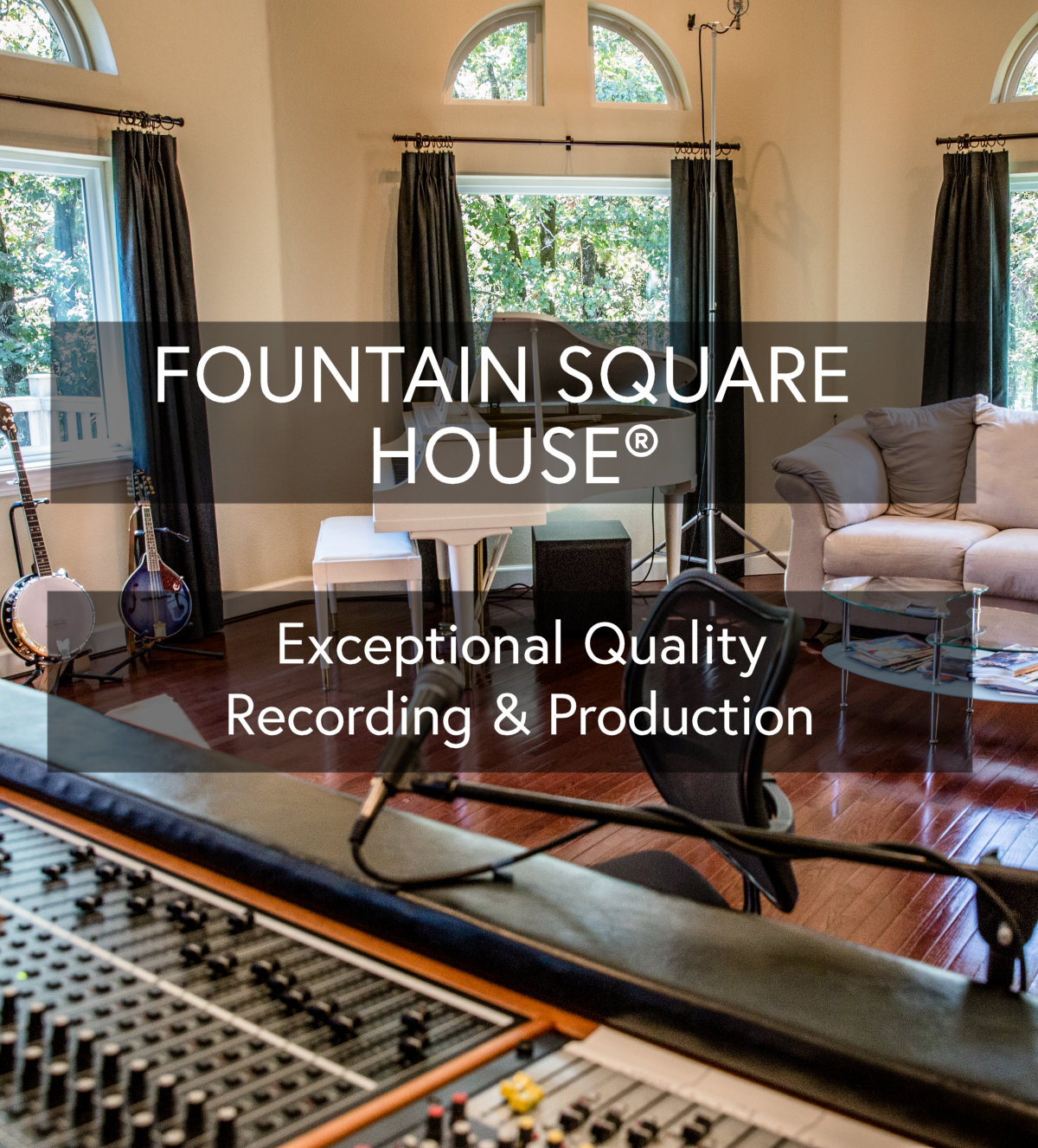Fountain Square House Recording Studio
