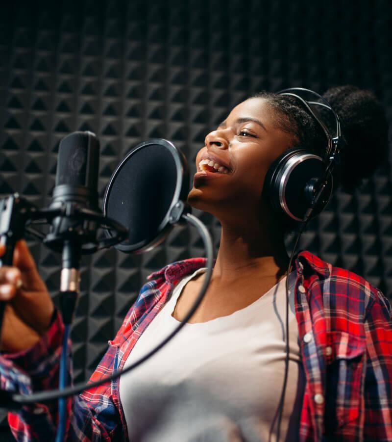 Vocalist Recording